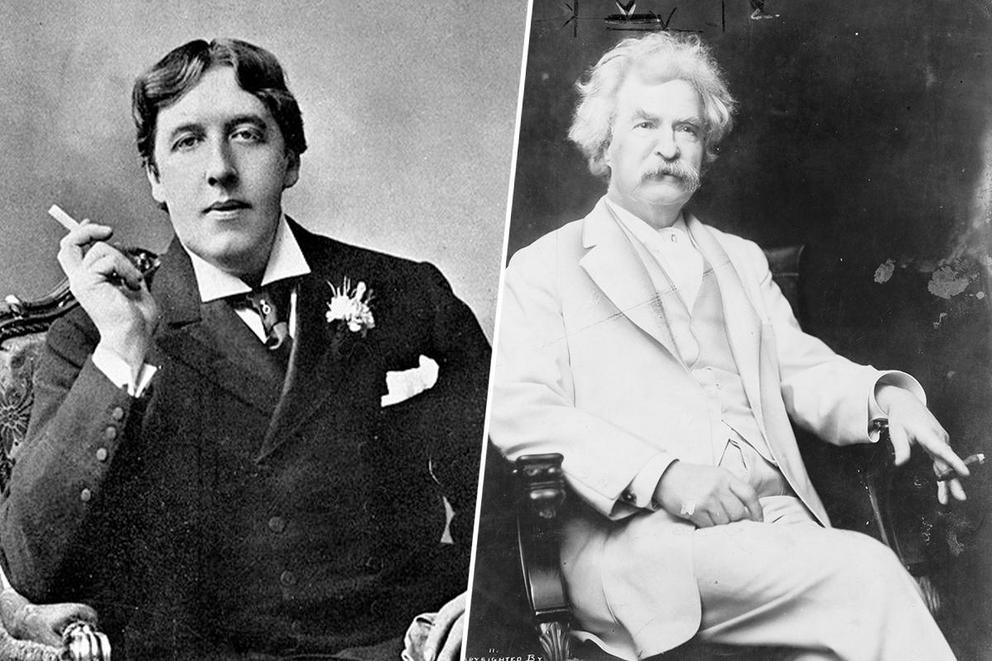 Who helps write your resignation: Oscar Wilde or Mark Twain?