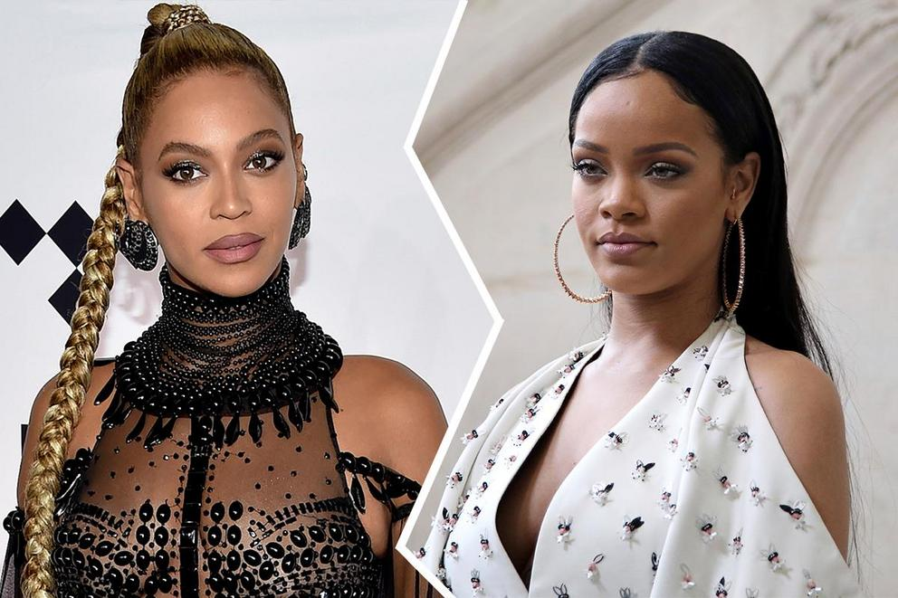 Who will win Favorite Soul/R&B Female Artist at the AMAs: Beyoncé or Rihanna?