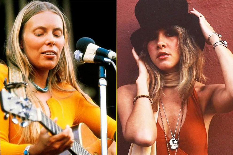 Greatest 70s female rock singer: Joni Mitchell or Stevie Nicks?