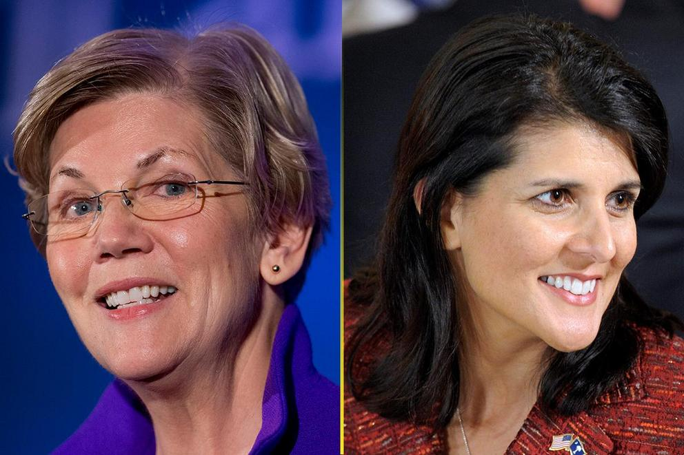 Who should be the first female president: Elizabeth Warren or Nikki Haley?