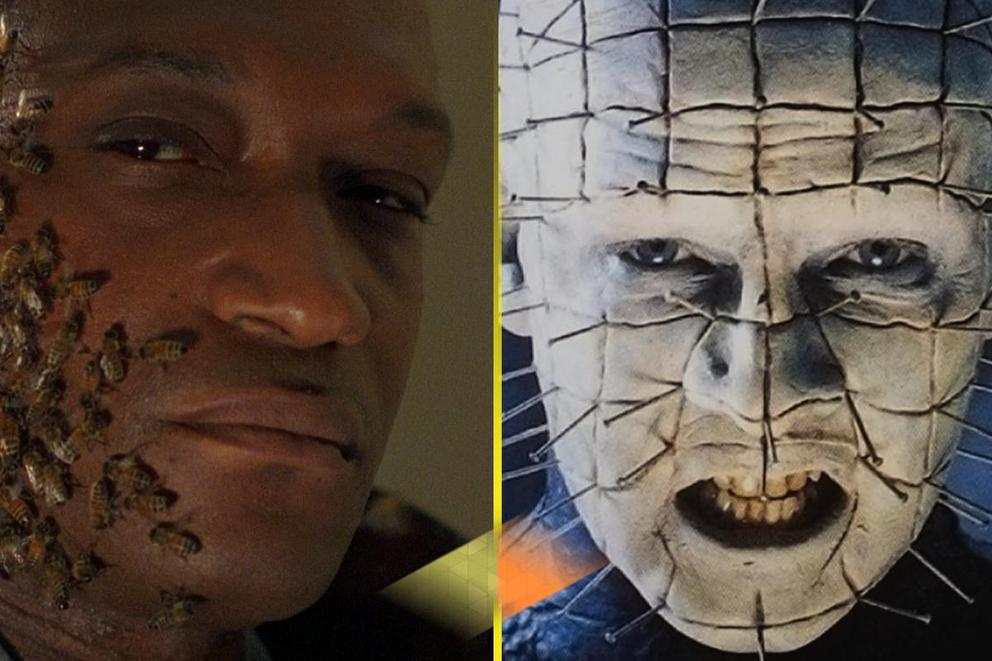Scariest Clive Barker horror icon: Candyman or Pinhead?