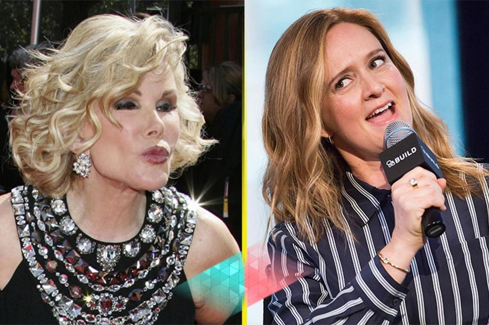 Most groundbreaking comedian: Joan Rivers or Samantha Bee?