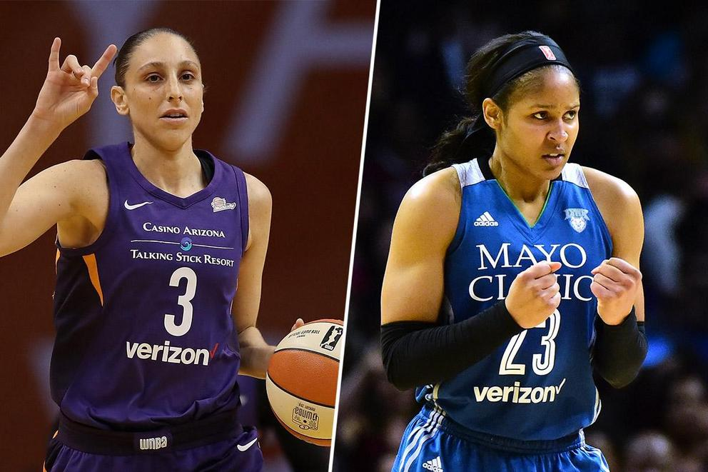 Who's the best WNBA player right now: Diana Taurasi or Maya Moore?