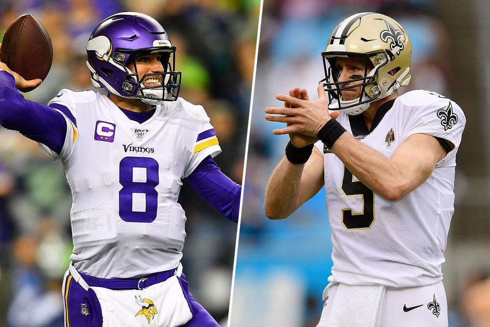 Who will win the NFL Wild Card round: Vikings or Saints?