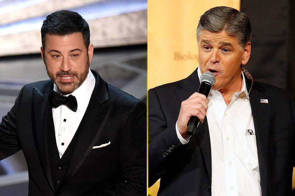 Jimmy Kimmel vs. Sean Hannity: Whose side are you on?