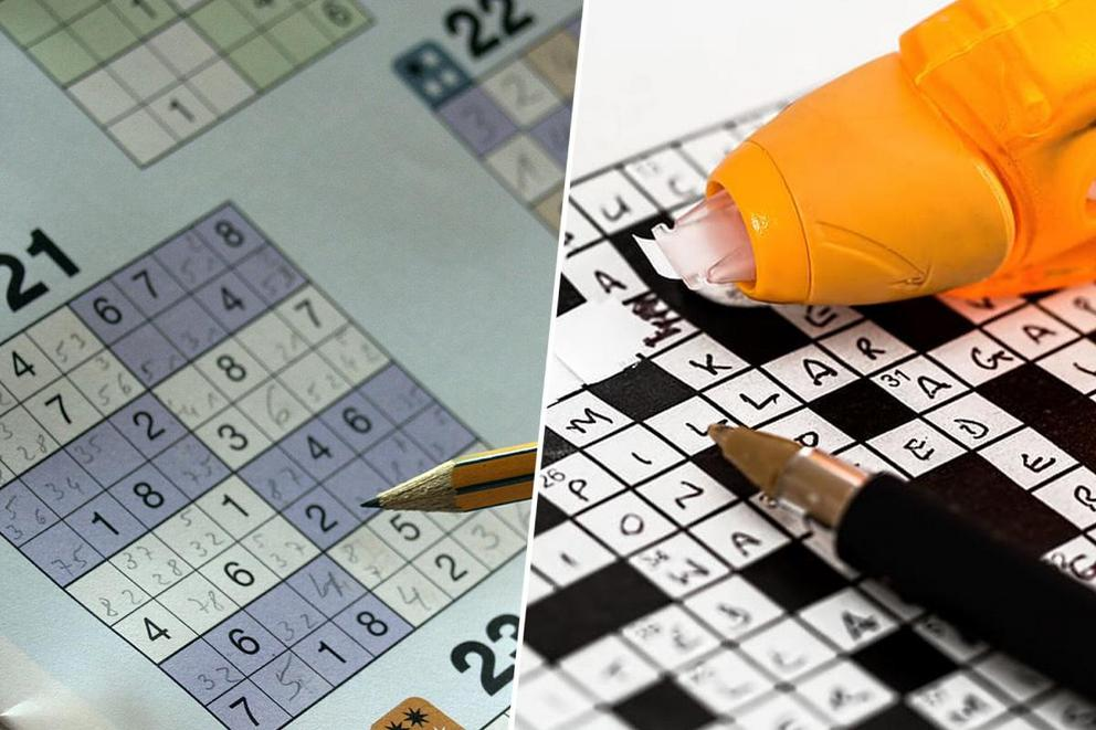 Favorite brain game: Sudoku or crossword puzzles?
