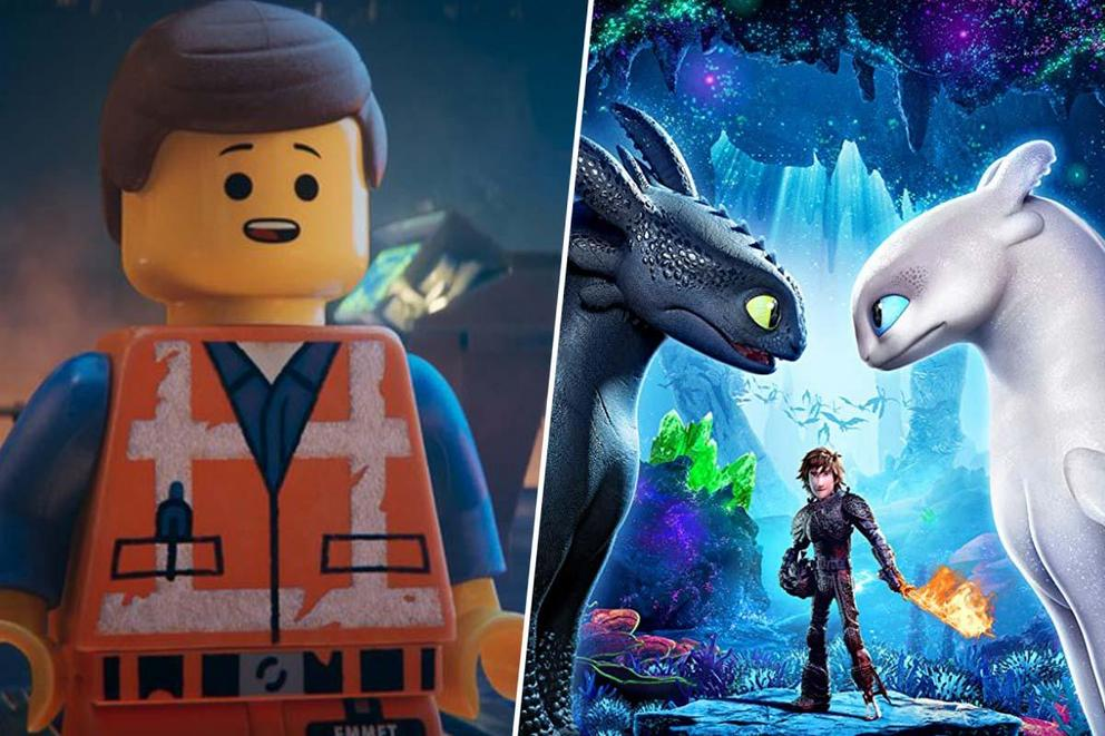Which animated sequel will dominate 2019: 'The LEGO Movie 2' or 'How to Train Your Dragon 3'?