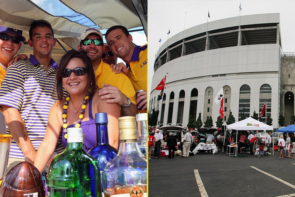 Who has the best tailgate: LSU or Ohio State?