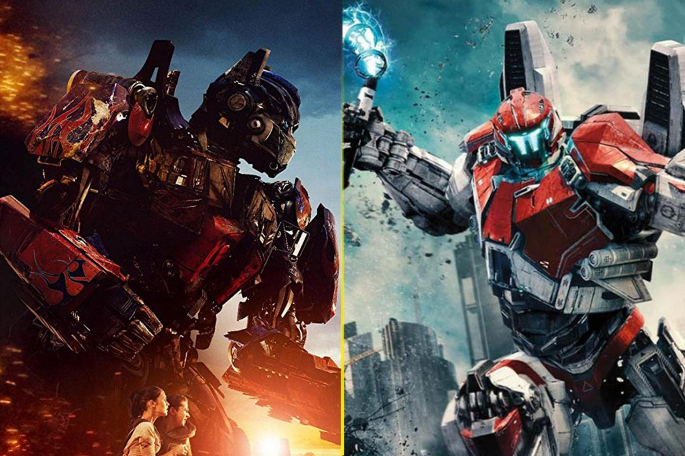 Best Giant Robot Series Transformers Or Pacific Rim The Tylt