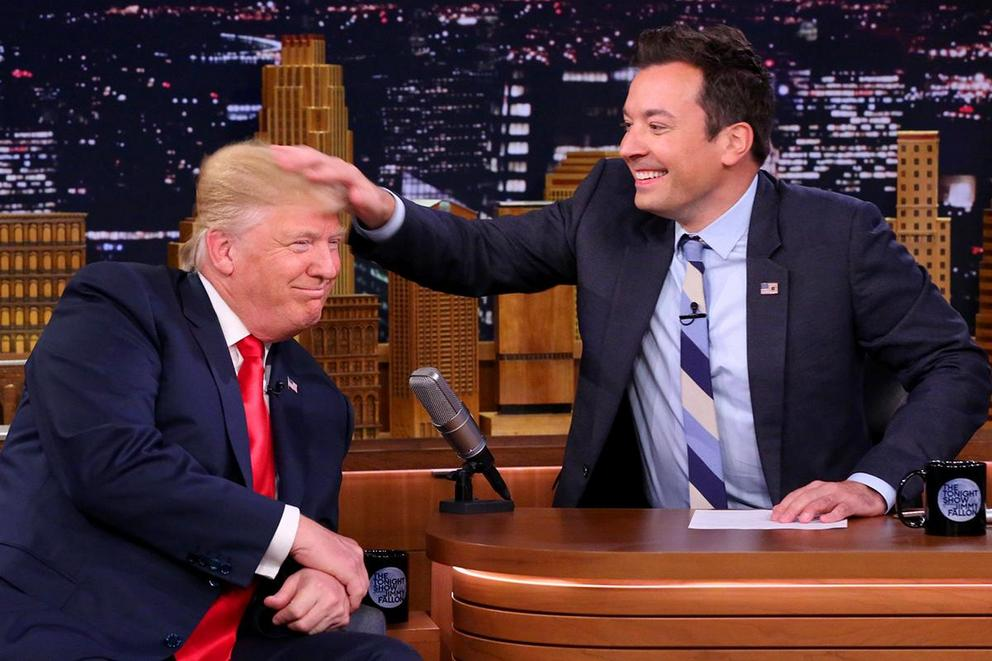 Is Jimmy Fallon to blame for normalizing Donald Trump?