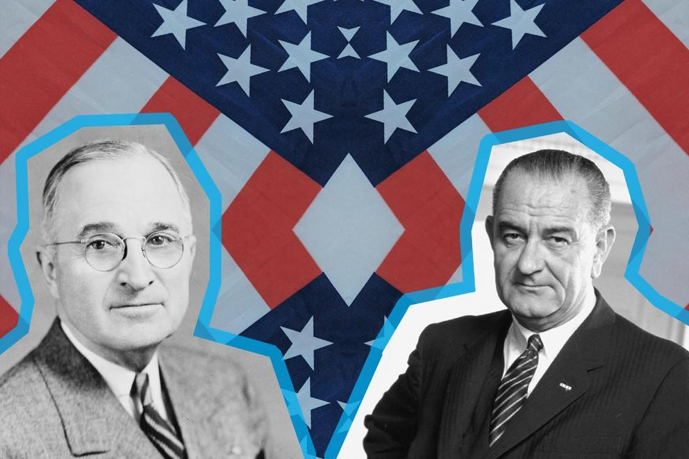 Most influential president: Harry Truman or Lyndon Johnson?