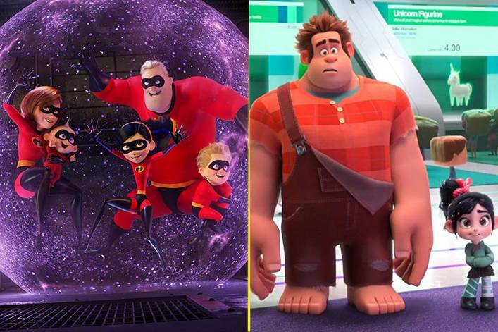 Image result for Incredibles 2 and ralph breaks the internet