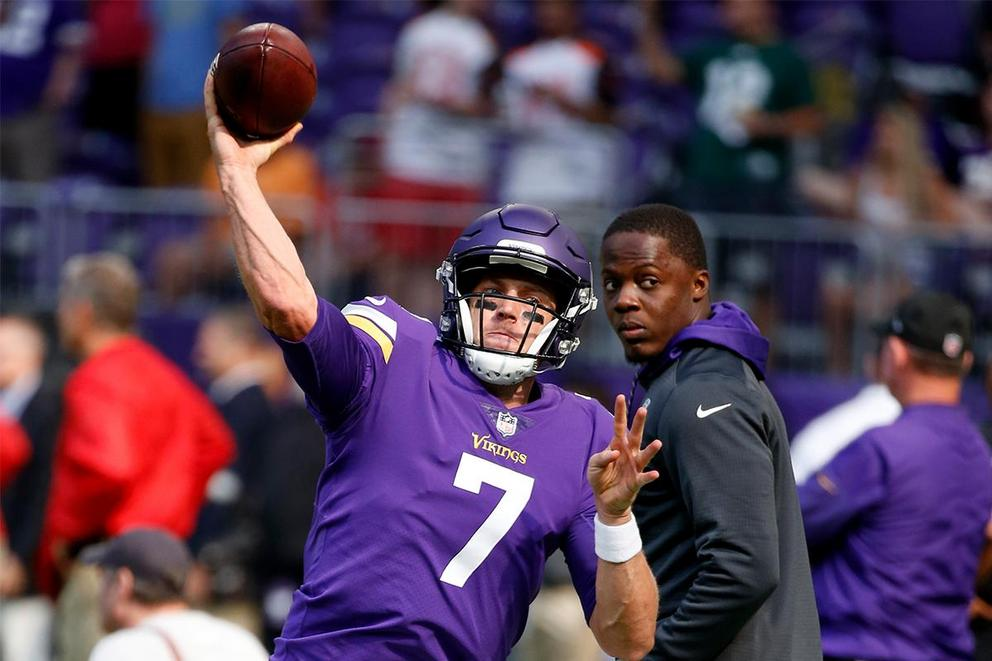 Who should start at quarterback for the Minnesota Vikings: Case Keenum or Teddy Bridgewater?
