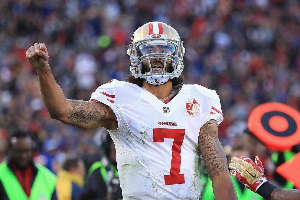 Is Colin Kaepernick talented enough to be a starting quarterback?