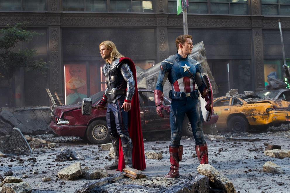 Are superheroes actually more violent than villains?