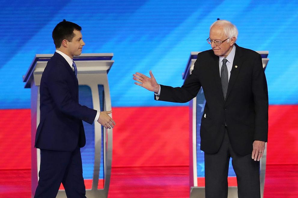 Would you rather vote for Bernie Sanders or Pete Buttigieg?