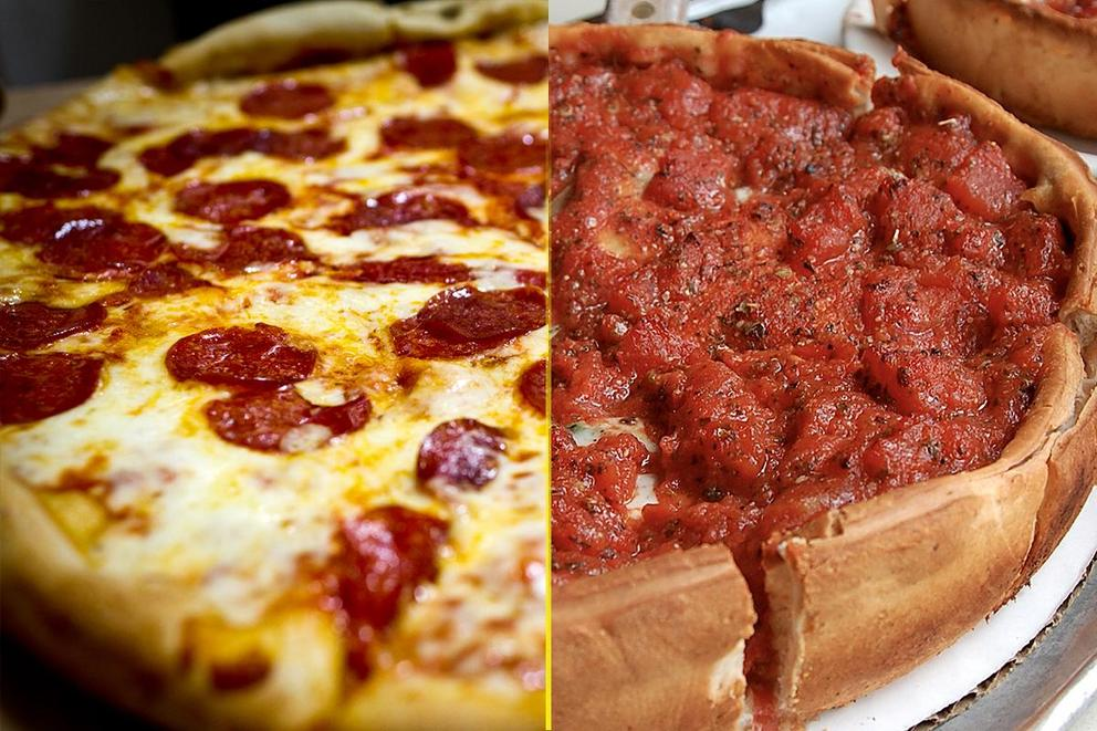 Best pizza slice: New York-style or Chicago deep dish?