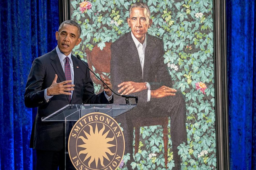 Do you like the official portraits of Barack and Michelle Obama?