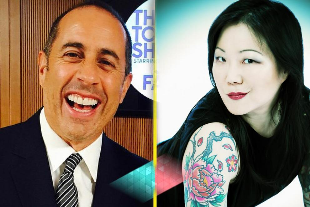 Best comedian with a sitcom: Jerry Seinfeld or Margaret Cho?