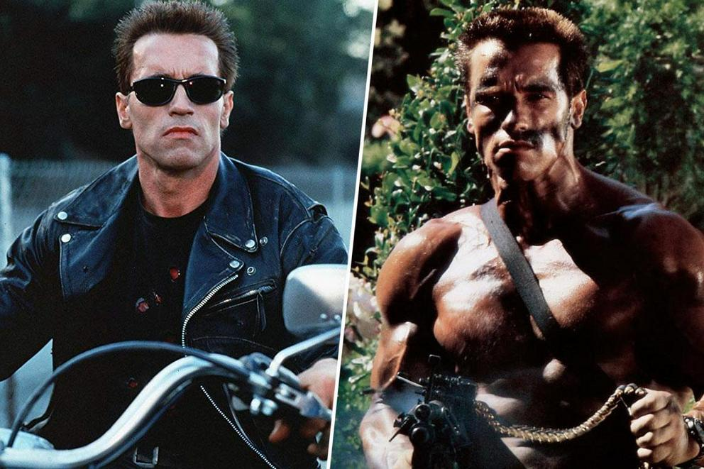 Arnold Schwarzenegger's most iconic action role: The Terminator or John Matrix?