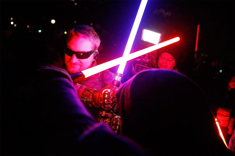 Should lightsaber dueling be an Olympic sport?