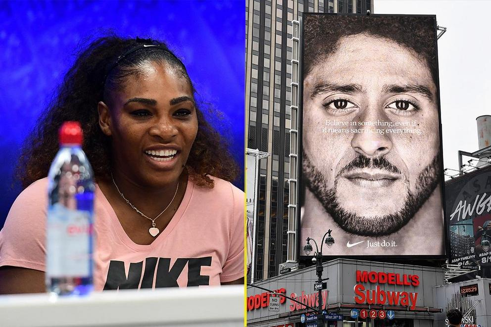 Most polarizing sports figure of 2018: Serena Williams or Colin Kaepernick?