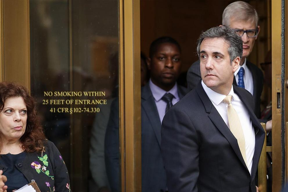If you were looking for a good lawyer, would you retain the services of Michael Cohen?