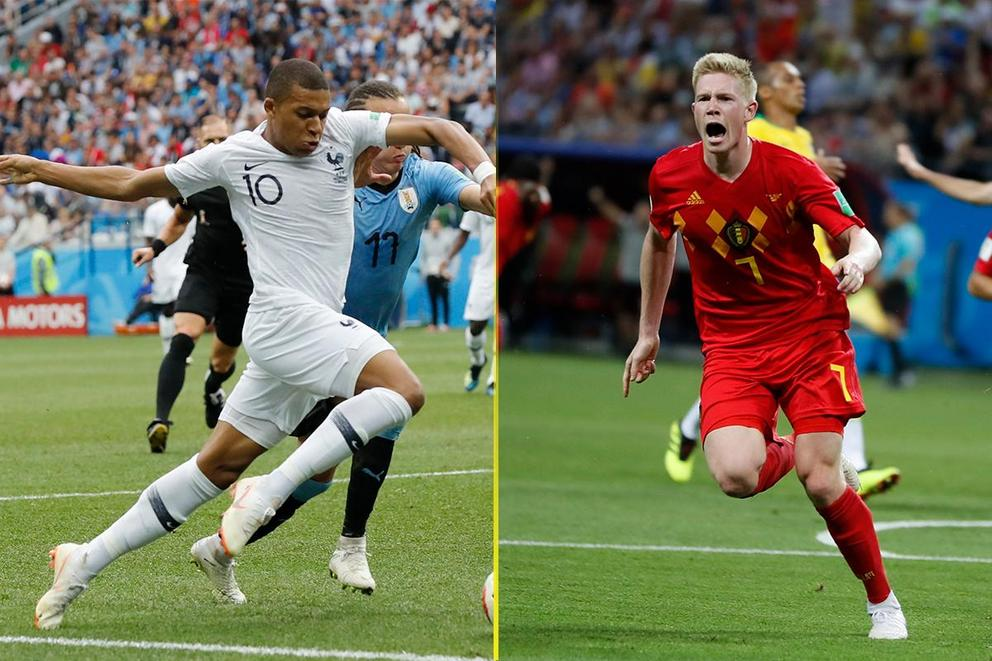 Who will advance to the World Cup final: France or Belgium?