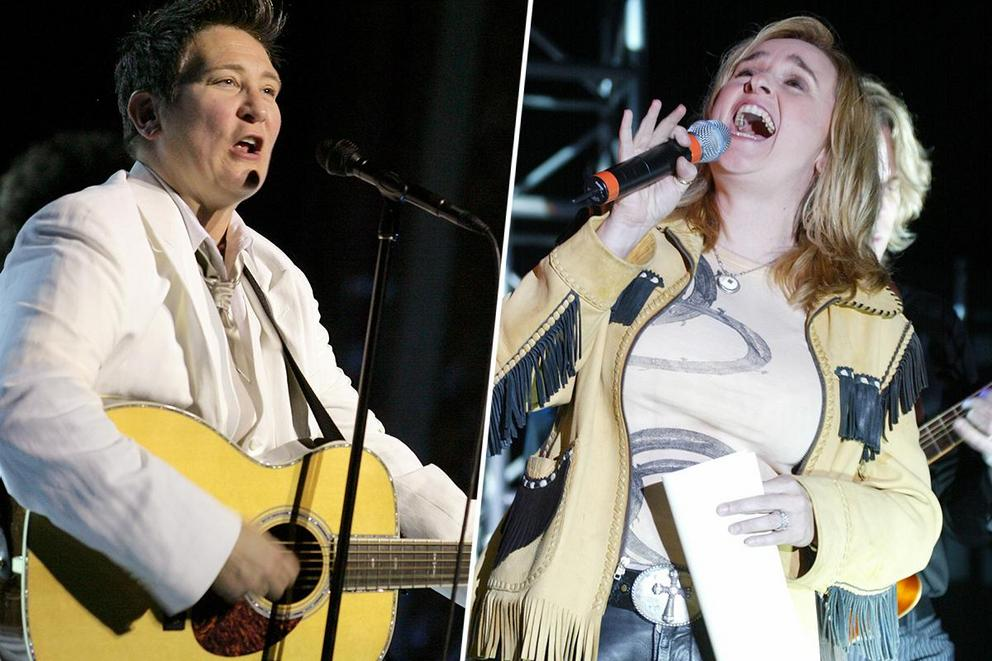 Greatest lesbian icon in music: K.D. Lang or Melissa Etheridge?