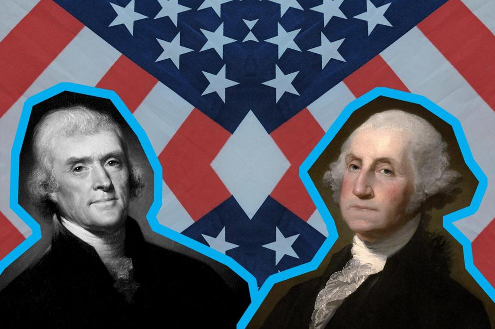 Most influential president: George Washington or Thomas Jefferson?