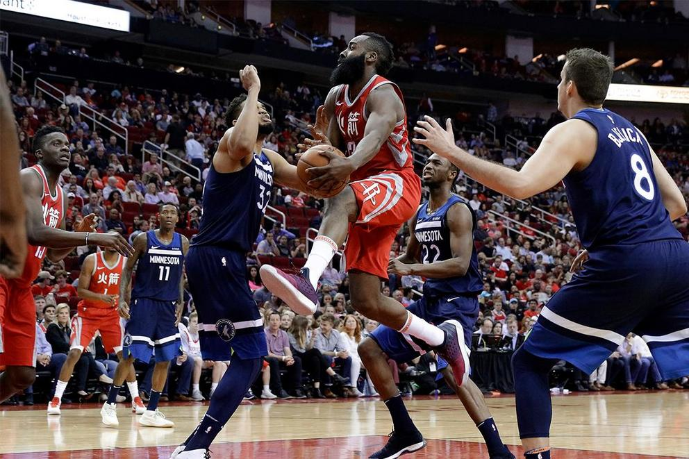 Who will survive the first round of the NBA Playoffs: Houston Rockets or Minnesota Timberwolves?