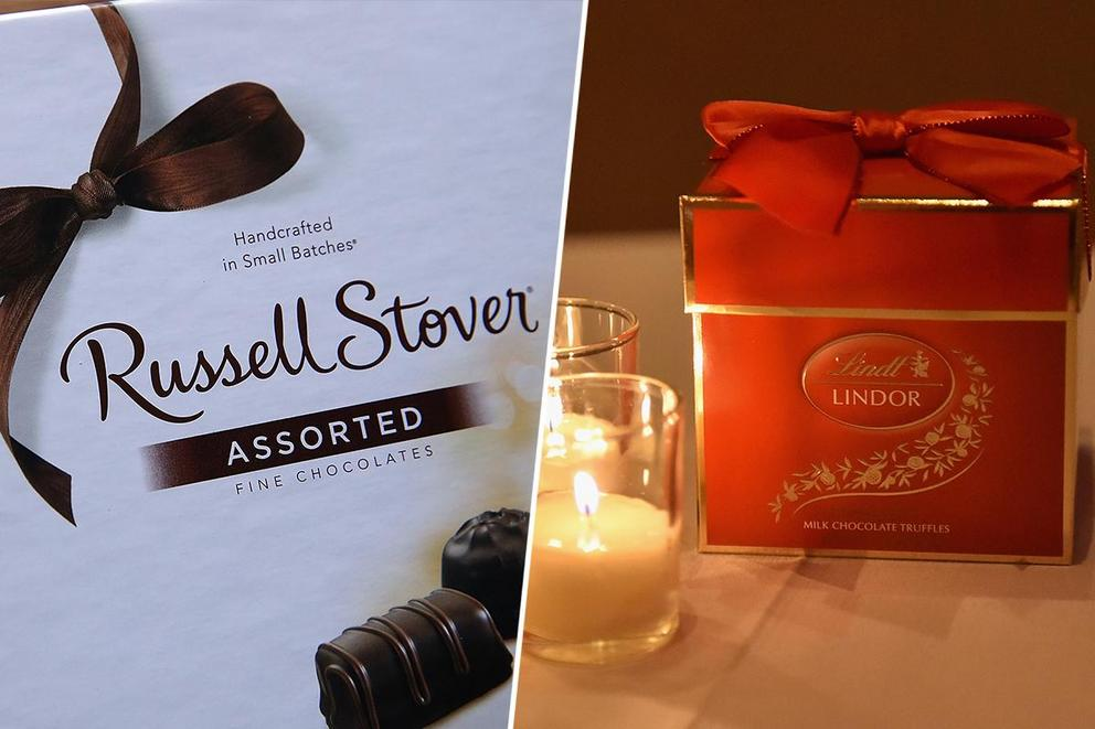 Most romantic chocolate: Russell Stover heart-shaped boxes or Lindt truffles?