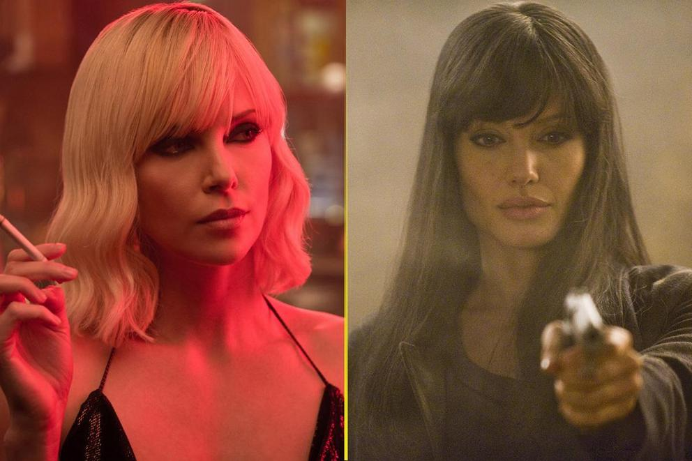 More badass assassin: Atomic Blonde or Salt?