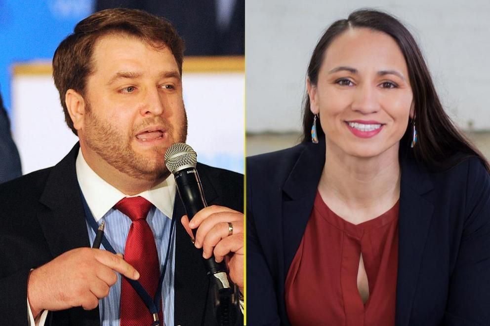 Should Kansas liberals vote for Brent Welder or Sharice Davids?