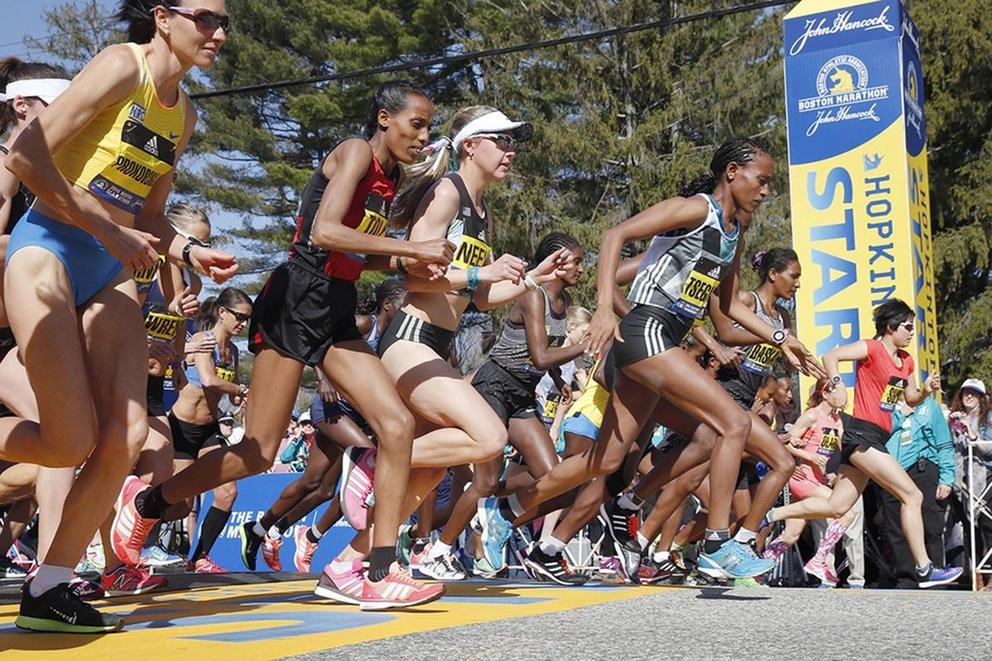 Praise for Boston Marathon runners dominates social media: do they deserve it?