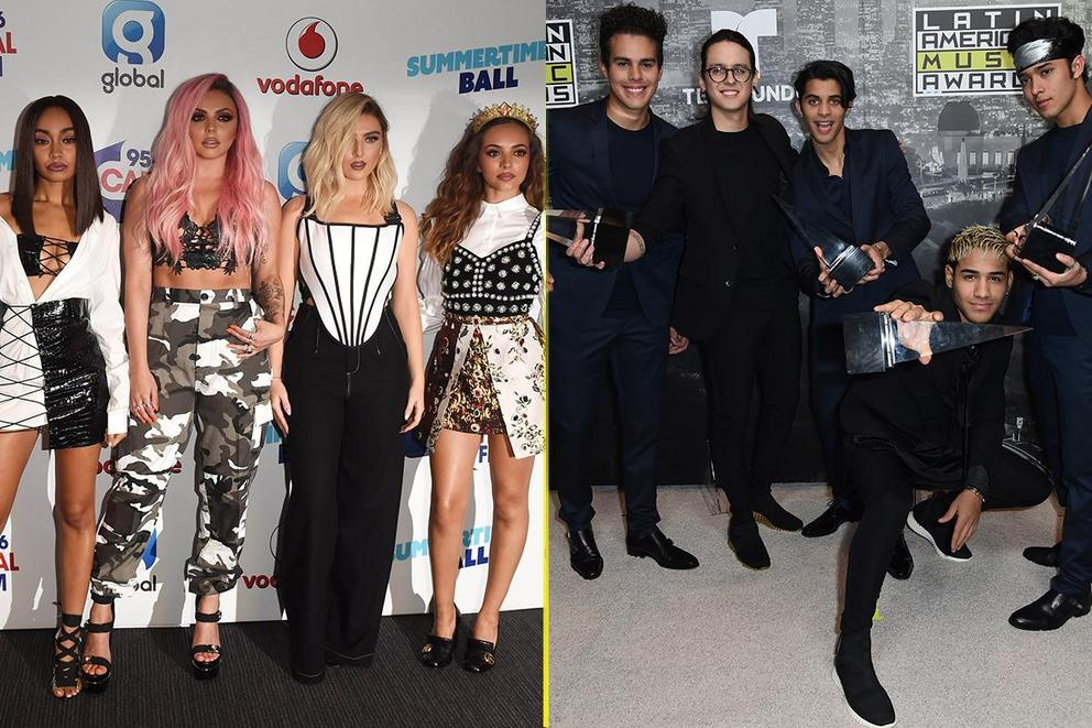 Which group from a reality competition will dominate 2018: Little Mix or CNCO?
