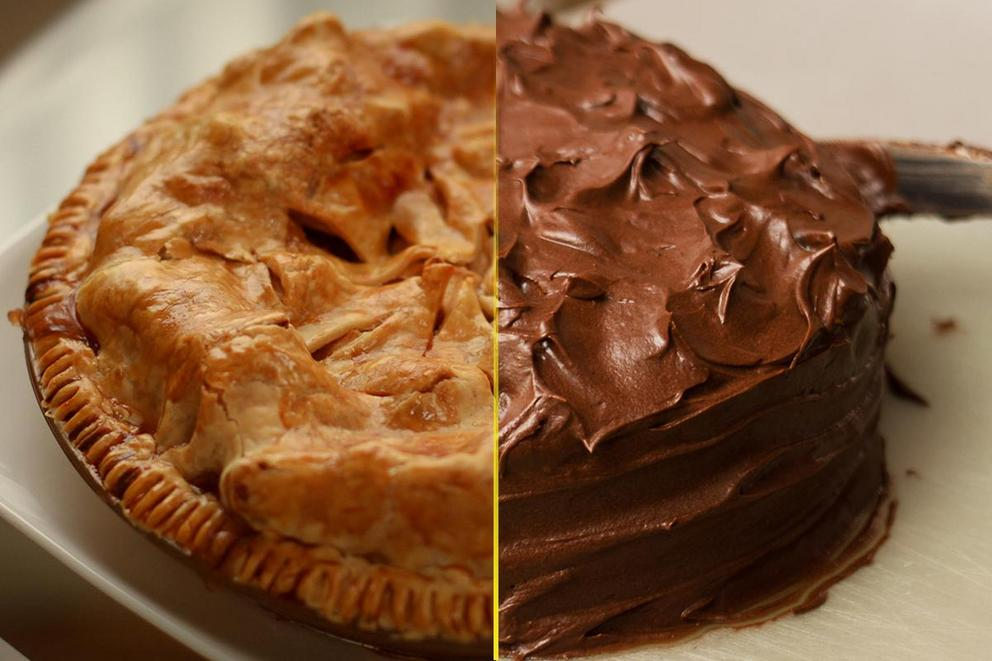 Is pie better than cake?