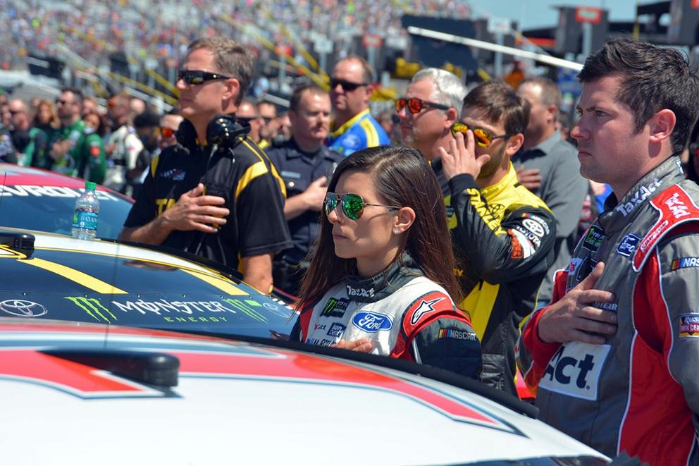 Is it unpatriotic for NASCAR to fire kneeling drivers and crew members?
