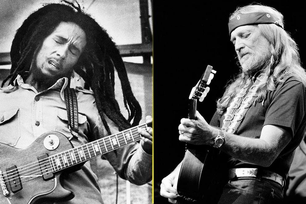Music's most influential pothead: Bob Marley or Willie Nelson?