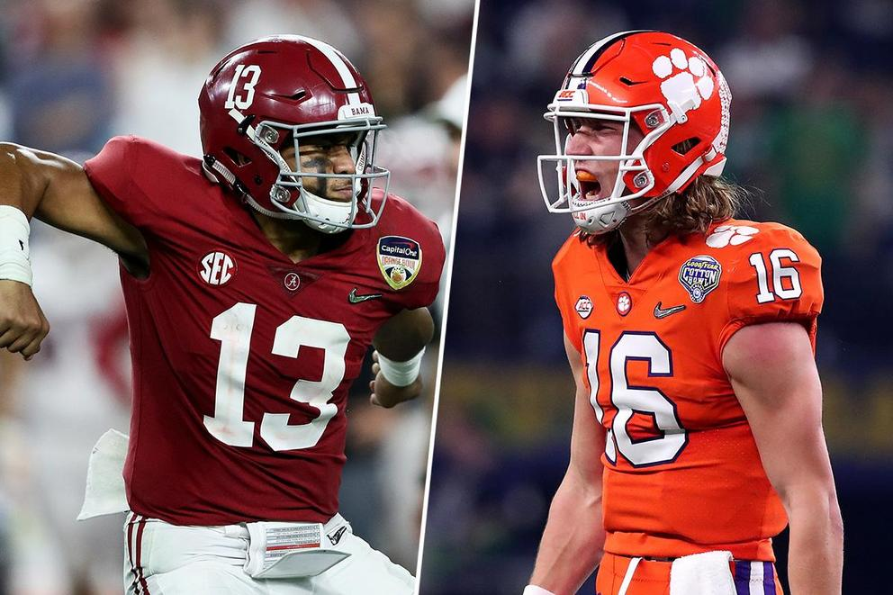 Who will win the College Football Playoff National Championship: Alabama or Clemson?