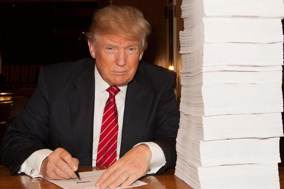 Did Donald Trump leak his own tax returns?