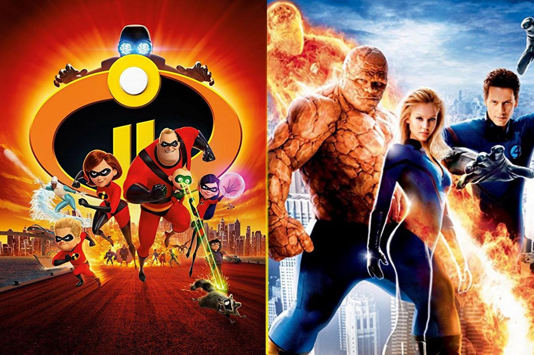 Is The Incredibles Just A Ripoff Of The Fantastic Four The Tylt