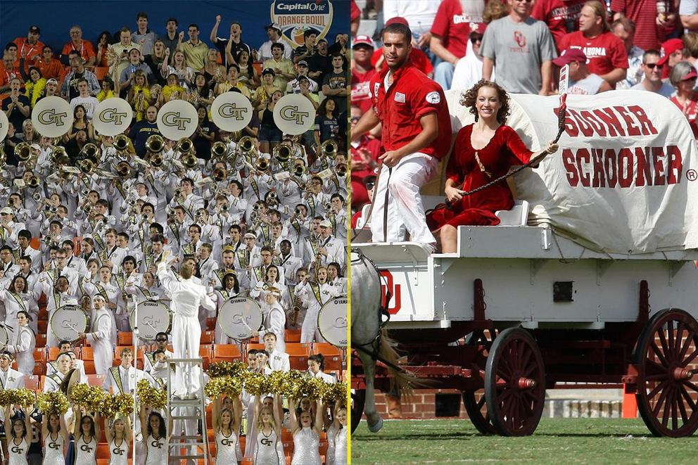 Best college fight song: Georgia Tech or Oklahoma?