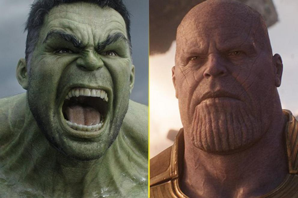 Who's the thiccest Marvel character of them all: Hulk or Thanos?