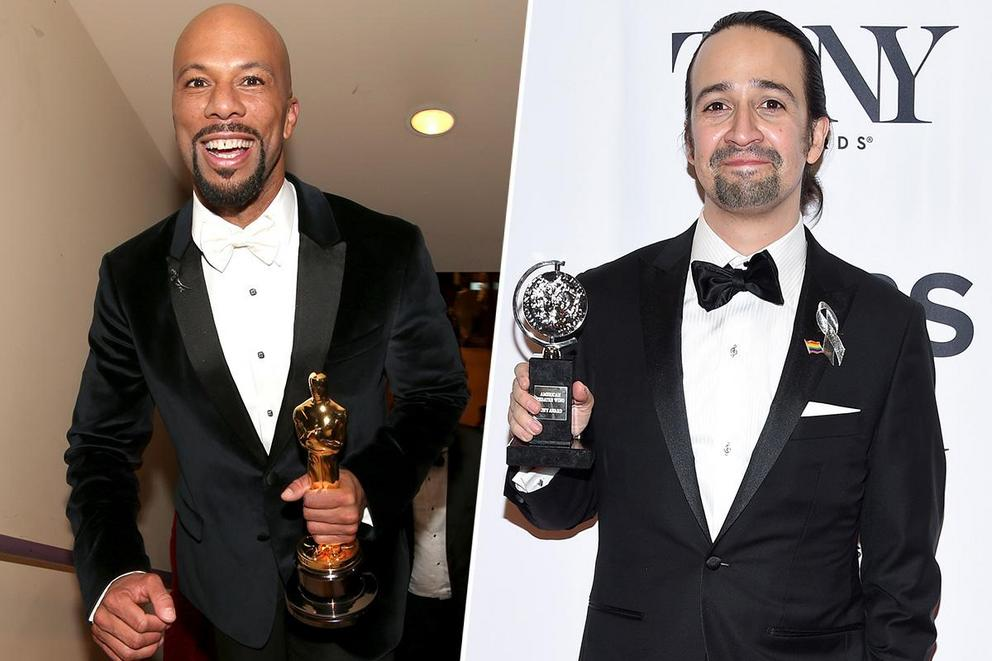 Who do you want to be the next EGOT winner: Common or Lin-Manuel Miranda?