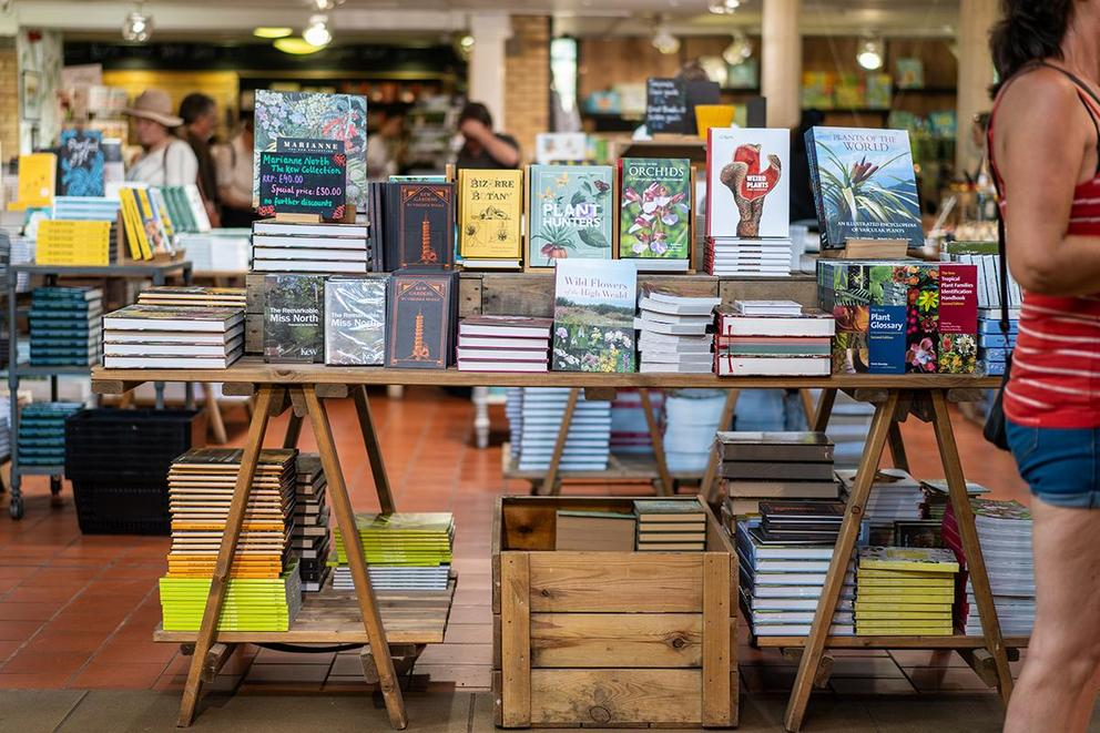 Which are you more likely to buy at a bookstore: books or merch?