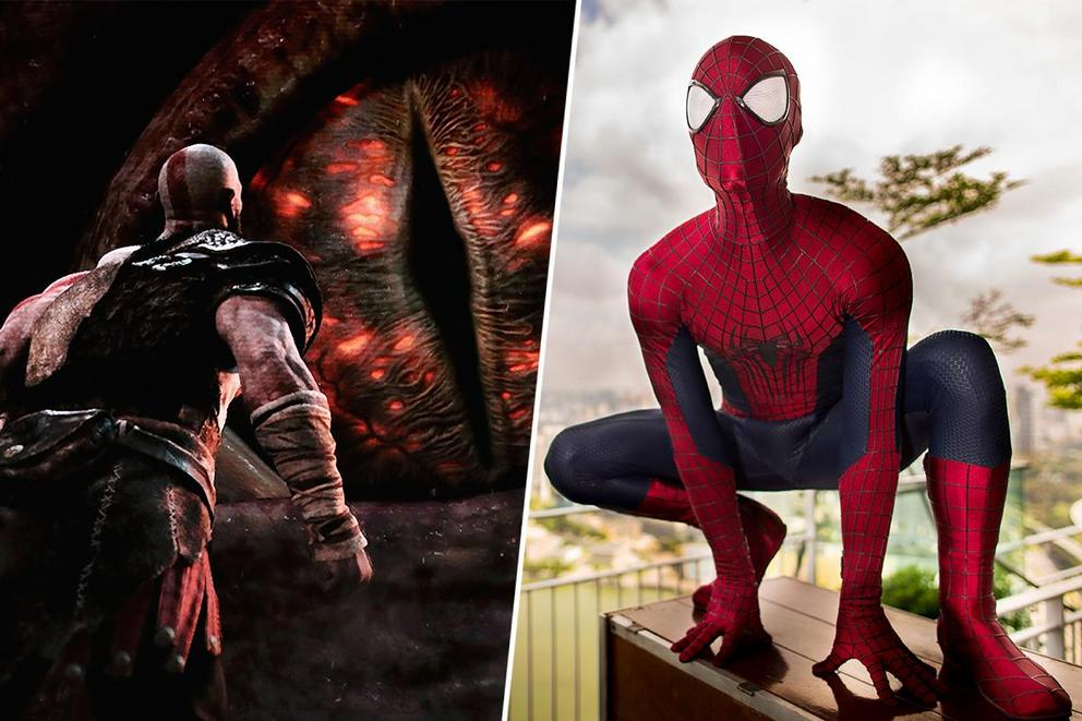Which title will be crowned video game of the year: 'God of War' or 'Spider-Man'?