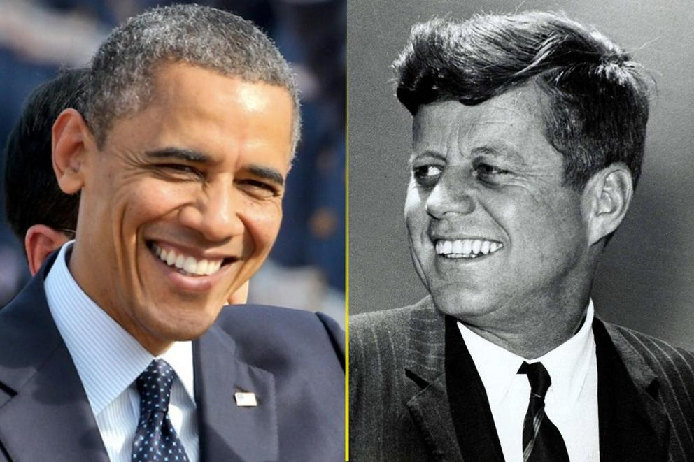 Hottest Democratic president: Barack Obama or JFK?