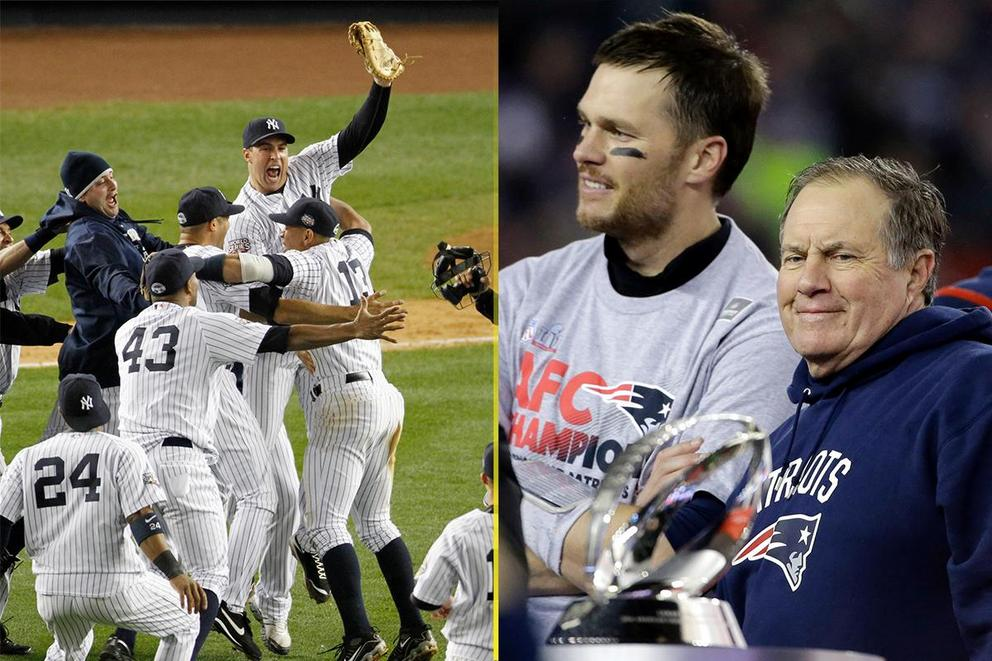 Who is the real 'Evil Empire' of sports: New York Yankees or New England Patriots?