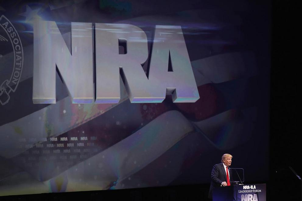 Should the National Rifle Association be dissolved?